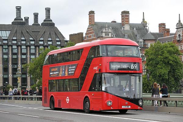 LT611 LTZ1611, Westminster Bridge 4/9/2017