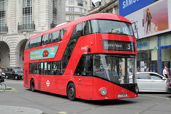 LT620 LTZ1620, Piccadilly Circus 18/8/2016