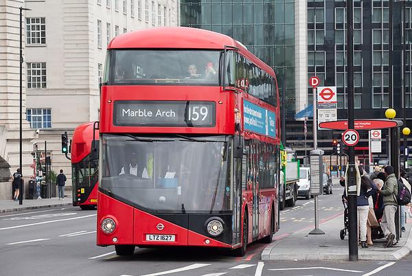 LT627 LTZ1627, Westminster Bridge 20/9/2018