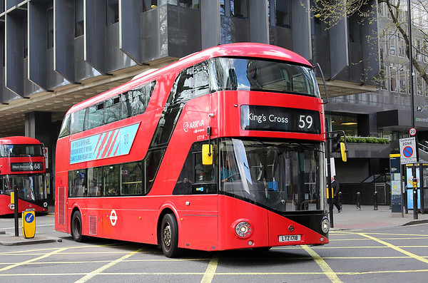 LT718 LTZ1718, Euston 31/3/2017