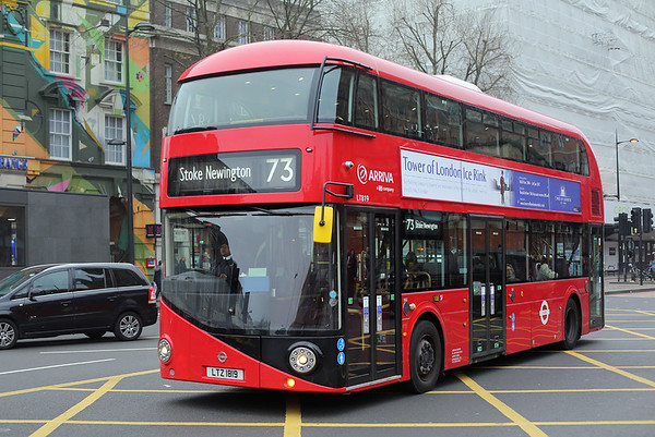 LT819 LTZ1819, Kings Cross 17/12/2016