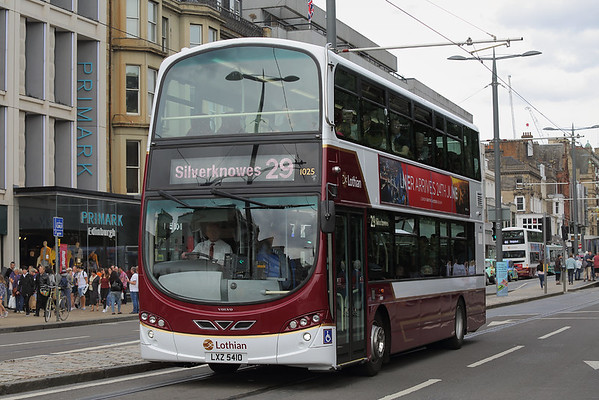 1025 LXZ5410, Edinburgh 11/8/2018