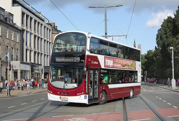 1020 LXZ5405, Edinburgh 29/8/2018