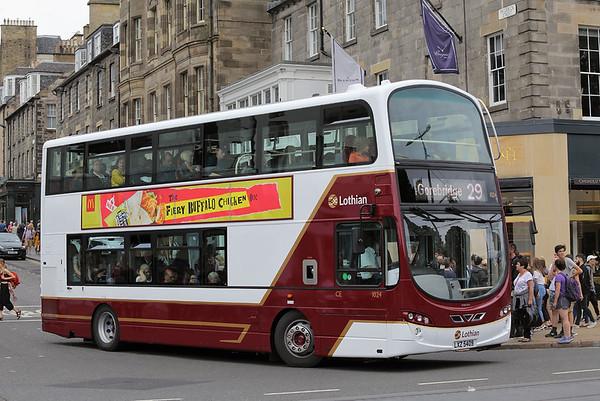 1024 LXZ5409, Edinburgh 11/8/2018