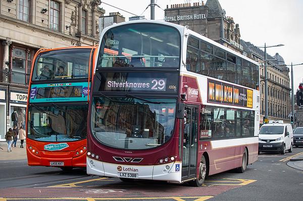 1006 LXZ5388, Edinburgh 9/10/2019