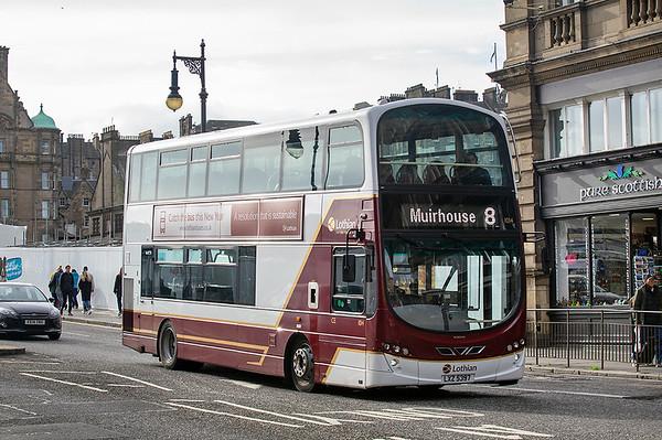 1014 LXZ5397, Edinburgh 9/10/2019