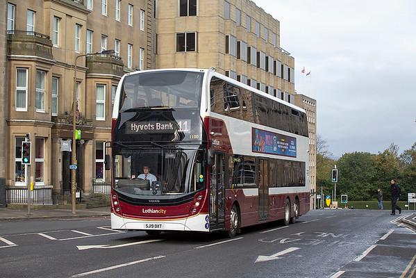 1100 SJ19OXT, Edinburgh 9/10/2019