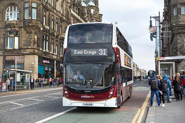 1123 SJ19OZB, Edinburgh 12/8/2019