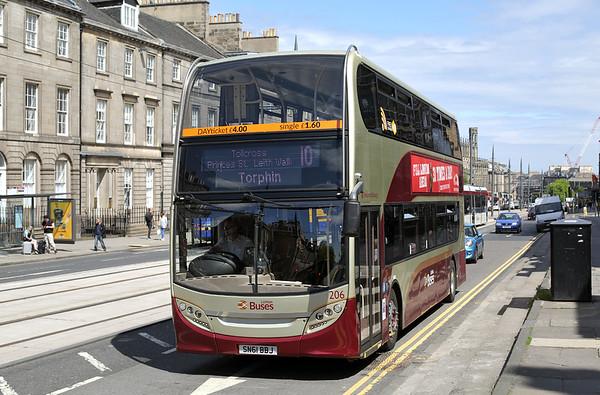 206 SN61BBJ, Edinburgh 2/6/2016
