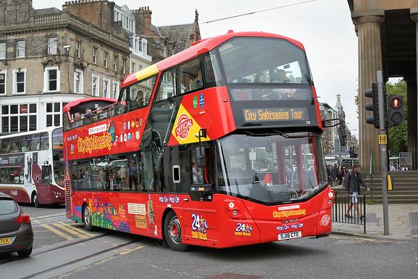 228 SJ16CTE, Edinburgh 13/9/2016
