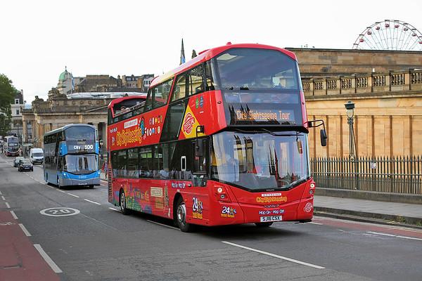 225 SJ16CSX, Edinburgh 20/8/2017