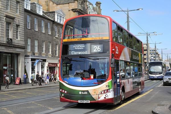308 SN09CUA, Edinburgh 2/6/2016