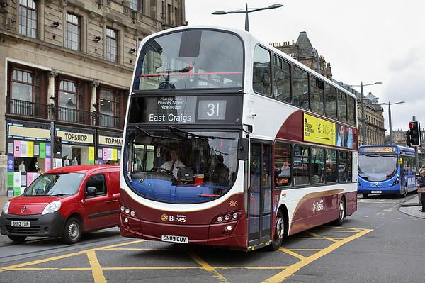 316 SN09CUV, Edinburgh 29/8/2017