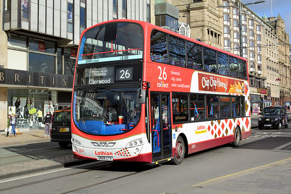 304 SN09CTV, Edinburgh 21/2/2014