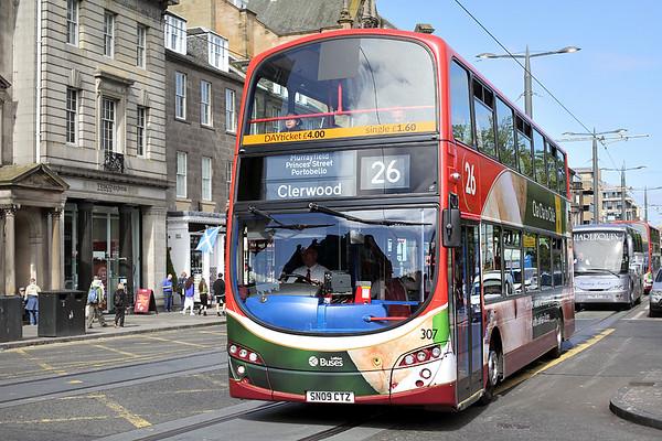 307 SN09CTZ, Edinburgh 2/6/2016