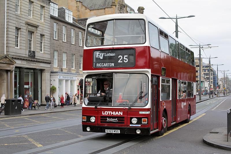 322 E322MSG, Edinburgh 13/9/2016