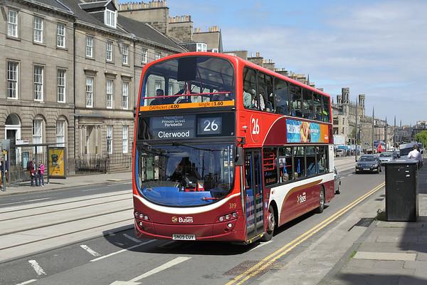 319 SN09CUY, Edinburgh 2/6/2016