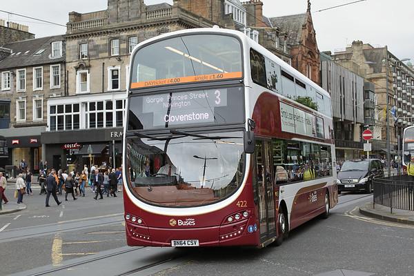 422 BN64CSV, Edinburgh 13/9/2016