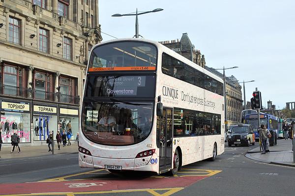 412 BN64CRF, Edinburgh 8/11/2017