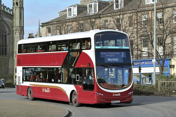 401 BN64COJ, Edinburgh 5/3/2015