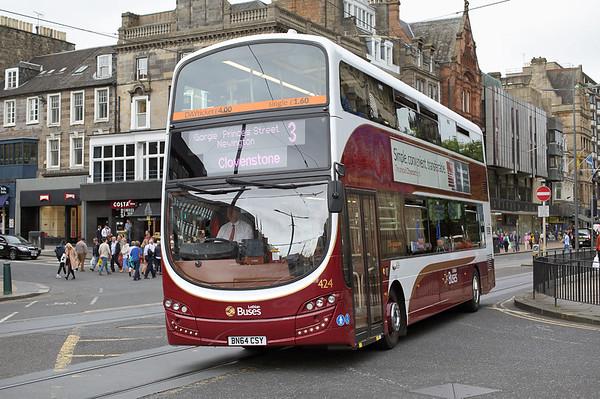 424 BN64CSY, Edinburgh 13/9/2016
