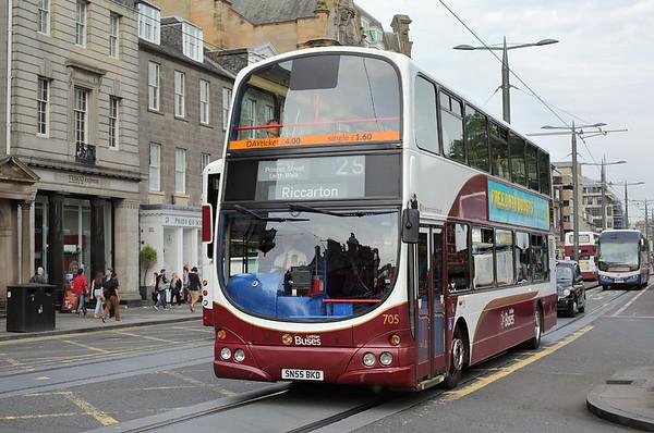 705 SN55BKD, Edinburgh 13/9/2016