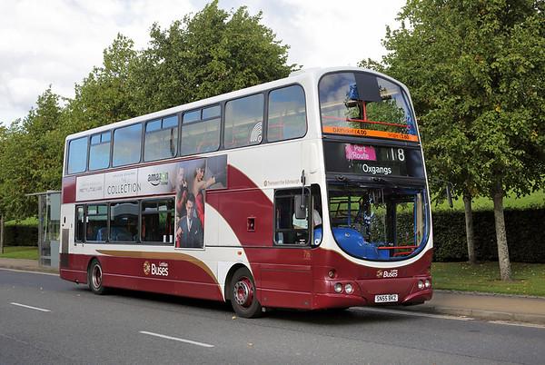 716 SN55BKZ, Edinburgh Park 16/9/2016