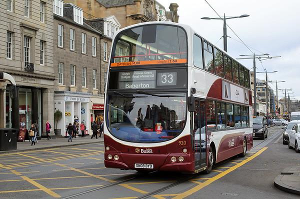 920 SN08BYO, Edinburgh 11/11/2016
