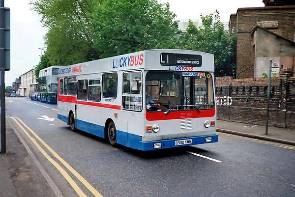 Luckett's B930KWM, Watford Junction 15/5/1991