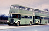 BDJ 807 is not really a London RT at all! It was new to St. Helens (807), being one of 25 bought in 1952. The bus is seen here with Harper Bros. of Heath Hayes and has subsequently been preserved. (Photographer unknown).