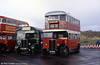 London Transport ST922 (GJ 2098), a 1930 AEC Regent with Tilling H27/25RO body at Cobham in 1998.