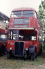 RT3911 (LLU 210) at the Oxford Bus Museum in May 1993.
