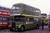 London Country RT604 (HLX 421) restored to National Bus Livery, in 1996.