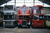 Three wonderful classics, two of them British, preserved by the Association Pour La Musee Des Transportes Paris and seen here at the former Paris Transport Museum, St Mande. In the centre is 'Roofbox' RT2657 (LYR 641).