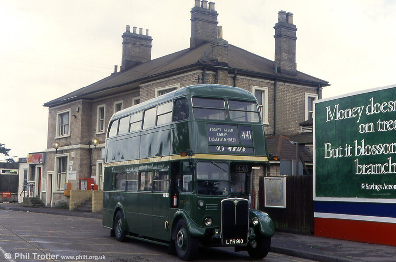 Country service RT3491 (LYR 910).