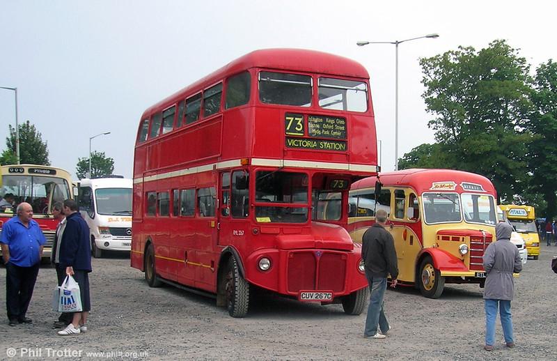 RML2267 (CUV 267C) at Swansea in June 2008.