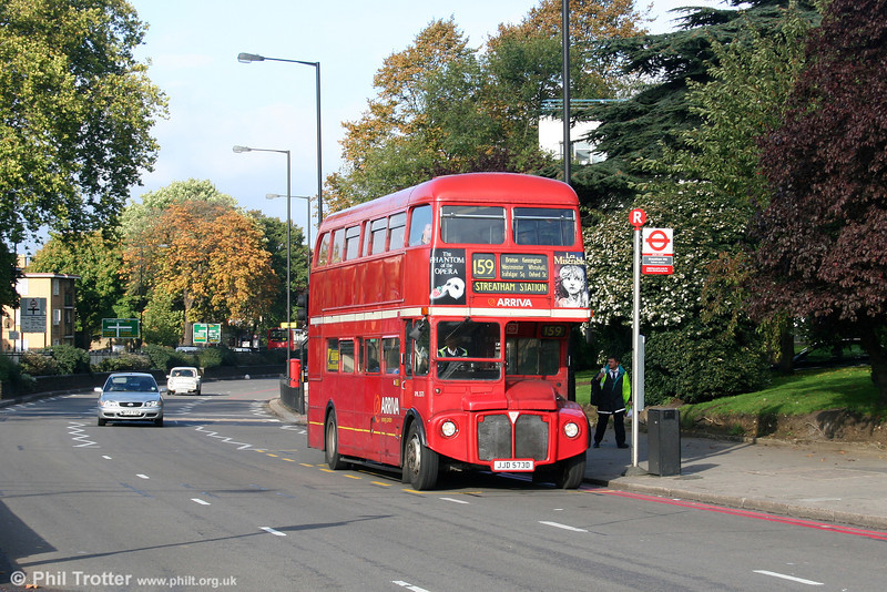RML2573 (JJD 573D) at Streatham Hill on 29th October 2005.