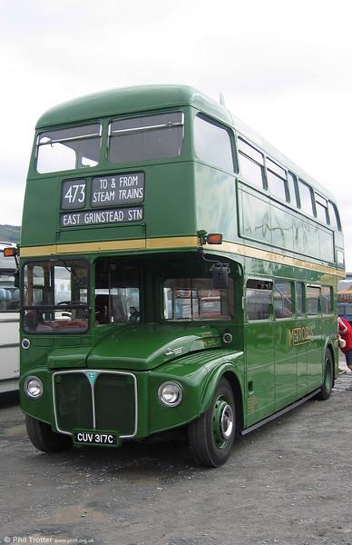 RML2317 (CUV 3177C) at Swansea in June 2005.