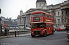 RM1833 (833 DYE) near the National Gallery on what turned out to be the final Routemaster operated 'front line' route. But this is March 1984 and the service still had 21 years association with Routemasters to look forward to.