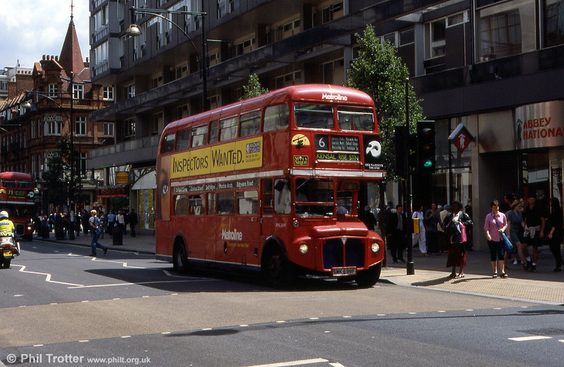 RML2698 (SMK 698F) on route 6, again in August 1999.