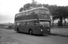 A design which was ahead of its time. The sole rear engined Routemaster, FRM1 (KGY 4D), built in 1966.