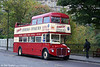 Mac Tours 12 (CUV 248C) is a 1965 AEC Routemaster/Park Royal PO36/29RD, formerly RCL2248 and seen on 16th October 2010.