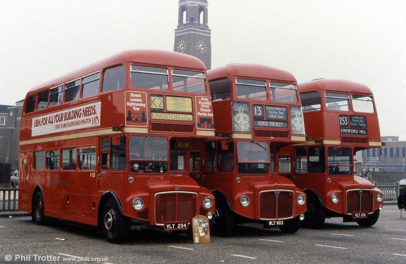 RM254 (VLT 254), RML903 (WLT 903) and RM216 (VLT 216).