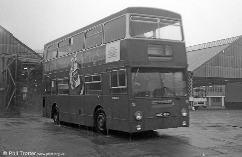 DMS2045 (OUC 45R) while on loan to South Wales Transport, Swansea in September 1982.