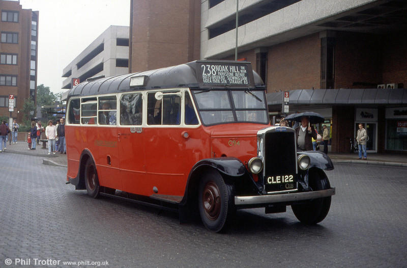 London Transport C94, a Leyland Cub KPO3 built in 1936 with a Weymann body.