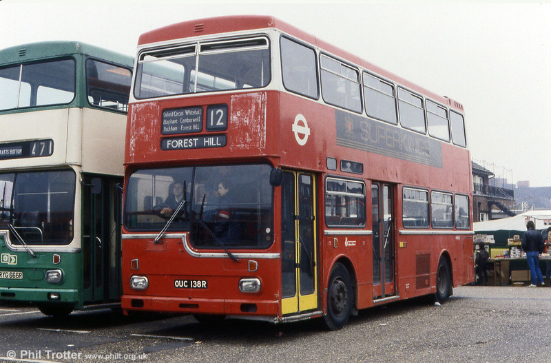 MD138 (OUC 138R) a 1977 Metro Scania BR111DH/MCW H43/29D.
