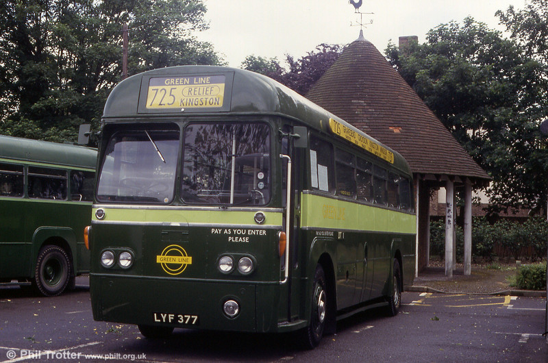 Updated RF26 (LYF 377) at Staines in 1993.