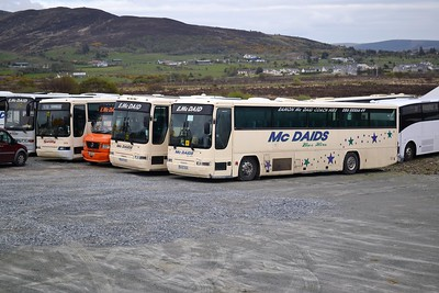 McDaid, Buncrana - former Lough Swilly 572, 555 and 565 (new to Ulsterbus)