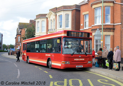 First 42926 (SN05EAE), Gordon Road, Lowestoft, 28th September 2018