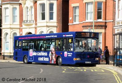 First 42938 (WX05SVD), Gordon Road, Lowestoft, 28th September 2018